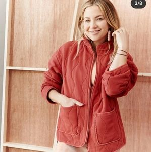 BRAND NEW Fabletics Oversized Quilted Jacket
